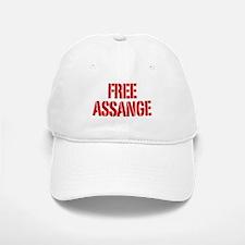 Free Assage Wikileaks Baseball Baseball Cap
