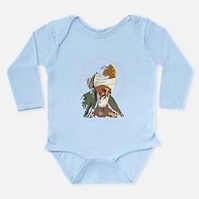 Cute Sufiism Long Sleeve Infant Bodysuit