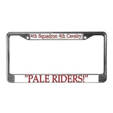 4th Squadron 4th Cav License Plate Frame
