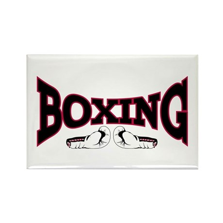 Boxing Rectangle Magnet (10 pack)