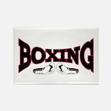 Boxing Rectangle Magnet