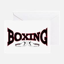 Boxing Greeting Card