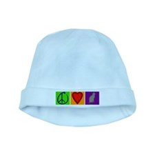 Peace Love Cats - baby hat
