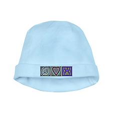 Peace Love Dogs (ALT) - baby hat
