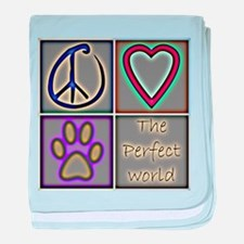 Perfect World: Dogs (ALT) - baby blanket