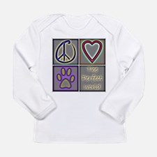 Perfect World: Dogs (ALT) - Long Sleeve Infant T-S