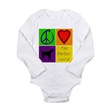 Perfect World: Black Lab - Long Sleeve Infant Body