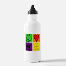 Perfect World: Black Lab - Water Bottle