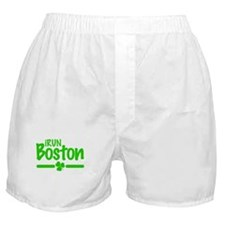 I Run Boston Boxer Shorts