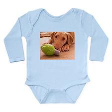Puppy Lightbulb Long Sleeve Infant Bodysuit