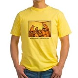 Humor Mens Yellow T-shirts