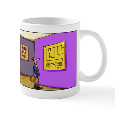 Heisenberg Department of Physics mug