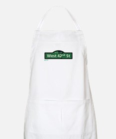 West 42nd Street in NY Apron