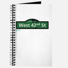West 42nd Street in NY Journal