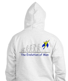 The Evolution of Man Hoodie
