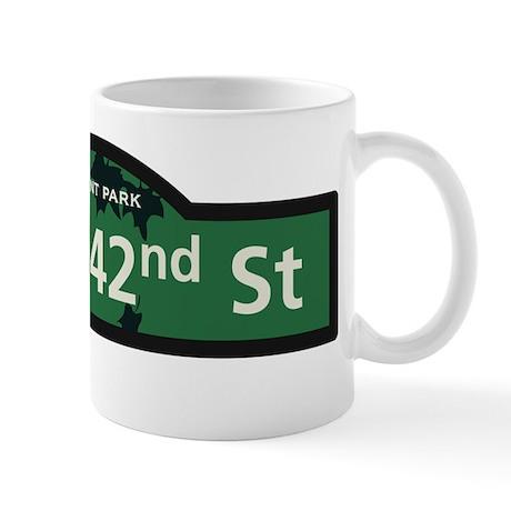 8th Avenue in NY Mug