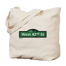 8th Avenue in NY Tote Bag