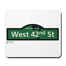 8th Avenue in NY Mousepad