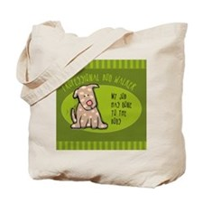 Dog Walker Gone 2 Dogs Tote Bag