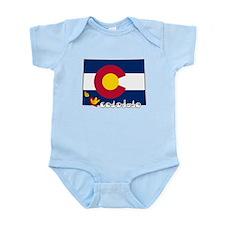 ILY Colorado Infant Bodysuit