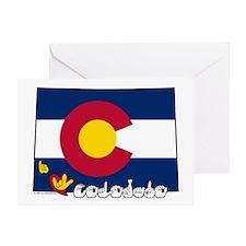 ILY Colorado Greeting Card