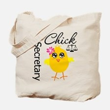 Legal Secretary Chick Tote Bag