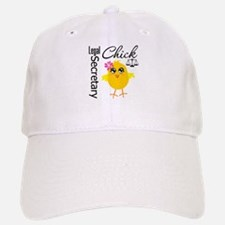 Legal Secretary Chick Baseball Baseball Cap
