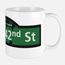 West 42nd Street in NY Mug