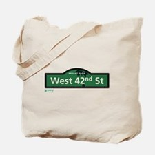 West 42nd Street in NY Tote Bag