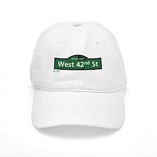 West 42nd Street in NY Baseball Cap