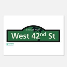 West 42nd Street in NY Postcards (Package of 8)