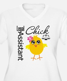 Legal Assistant Chick T-Shirt