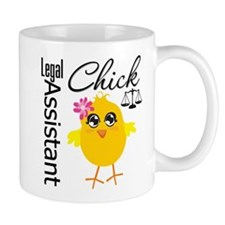 Legal Assistant Chick Mug