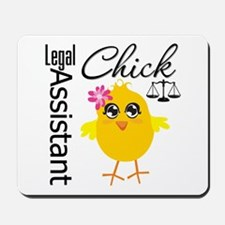 Legal Assistant Chick Mousepad