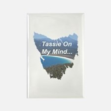 Funny Tasmania Rectangle Magnet
