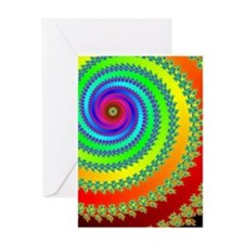 Spiral of Spirals - Greeting Card
