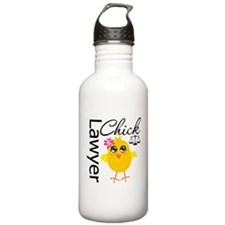 Lawyer Chick Sports Water Bottle