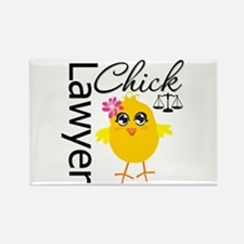 Lawyer Chick Rectangle Magnet