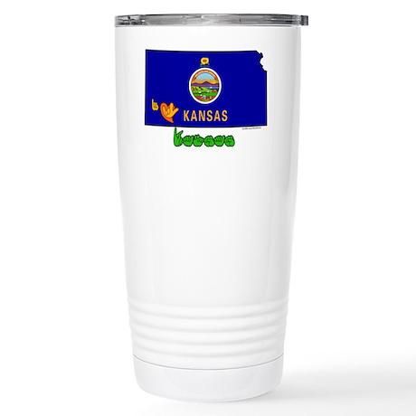 ILY Kansas Stainless Steel Travel Mug