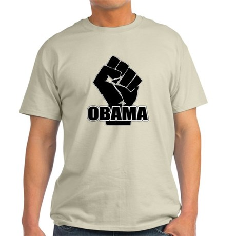 Obama Fist Impact! Light T-Shirt