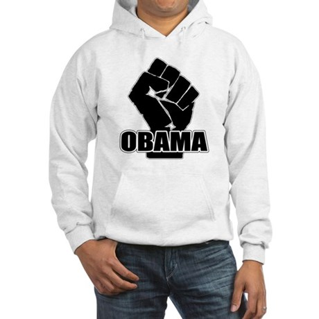 Obama Fist Impact! Hooded Sweatshirt