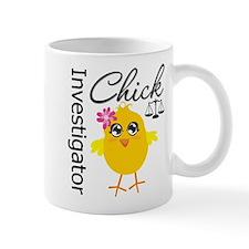 Investigator Chick Mug