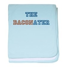 The Baconater baby blanket