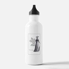 Jane Austen Walk Water Bottle