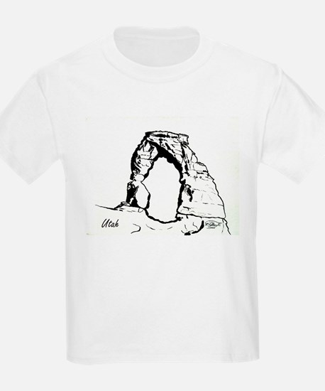 Delicate Arch BW T-Shirt