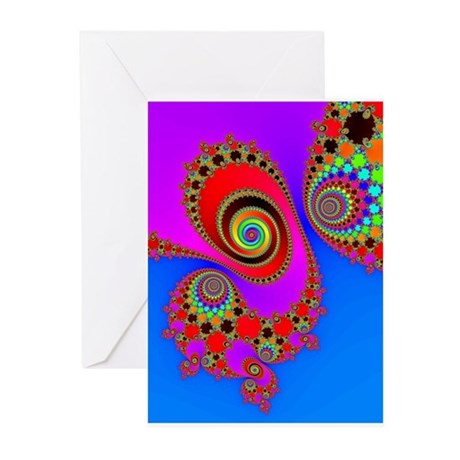 Spiral and Vortices - Greeting Cards (Pk of 10)