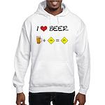 Beer + bike Hooded Sweatshirt
