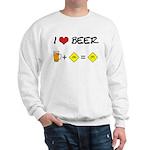 Beer + bike Sweatshirt