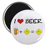 Beer + bike Magnet