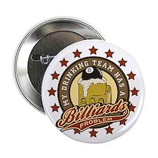 """Billiards Drinking Team 2.25"""" Button"""